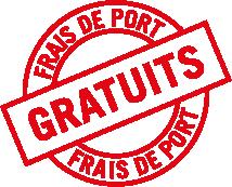 Frais de port gratuits 1