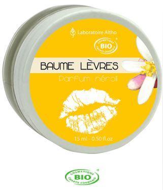 Baume à Lèvres Bio au Néroli