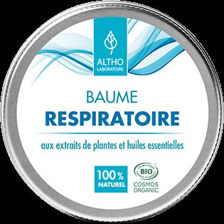 BAUME RESPIRATOIRE aux 12 Huiles Essentielles BIO.