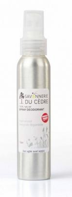 DEODORANT NATUREL EN SPRAY AU  PALMAROSA
