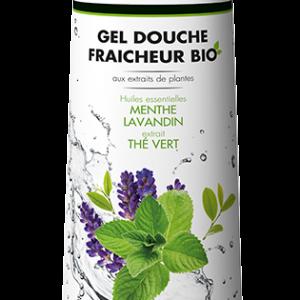 Flacon 500 ml gel douche fraicheur fr
