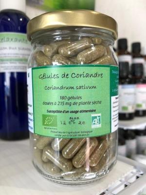 Troubles Digestifs! GELULES DE CORIANDRE BIO 180G