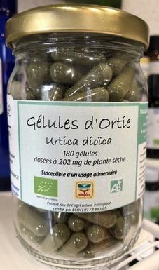 GELULES D'ORTIE  BIO 180G