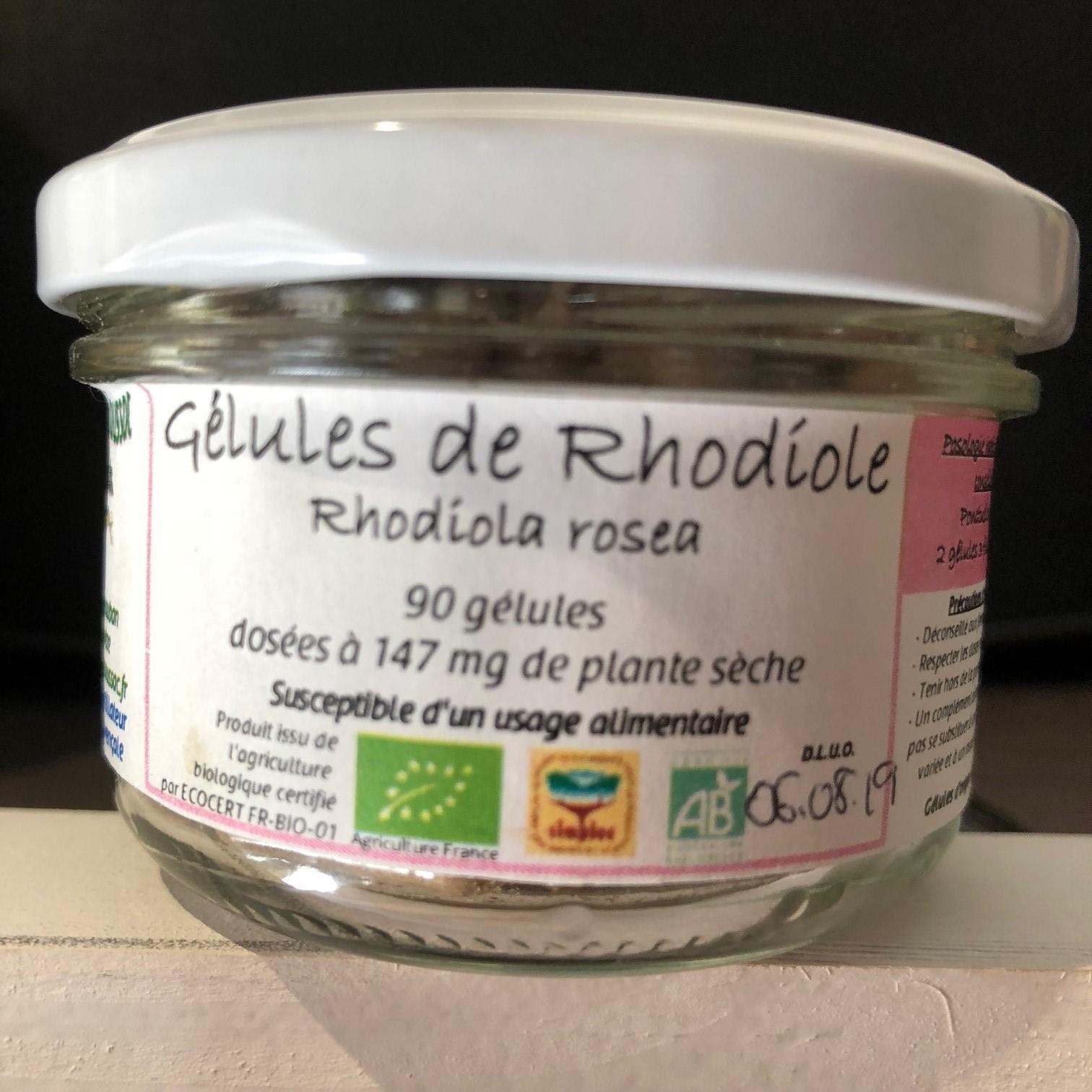 Gelules rhodioles 1
