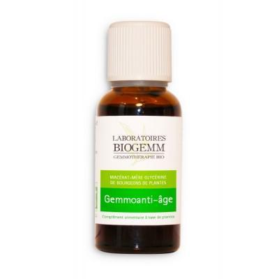 GEMMOANTI-AGE (Romarin, Cassis, Sequoia, Chêne, Vigne) Anti-Age, Antioxydant 30ML