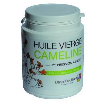 Oméga-3!  200 Capsules Huile Vierge de CAMELINE 100% Naturelle