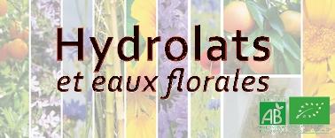 Les Hydrolats & Eaux Florales. L'Hydrolathérapie