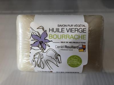 Savon Pur Végétal  à l'huile Vierge de Bourrache