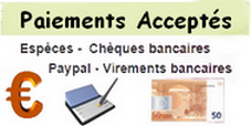 Paiements Accepté
