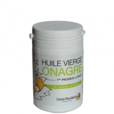 Capsules Huile Vierge d'Onagre