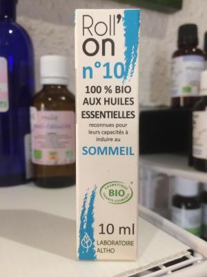ROLL'ON SOMMEIL 100% BIO aux Huiles Essentielles