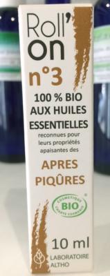 ROLL'ON  APRÈS PIQÛRES 100% BIO aux Huiles Essentielles