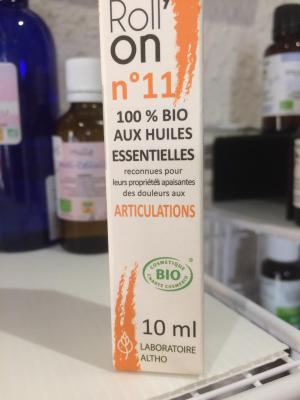 ROLL'ON  ARTICULATIONS 100% BIO aux Huiles Essentielles
