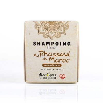 SHAMPOING SOLIDE NATUREL BIO AU RHASSOUL