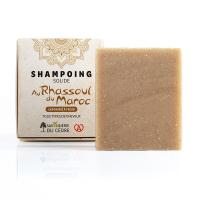 Shampooing solide naturel rhassoul