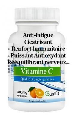 Vitamine C Pure Quali®-C. 500MG
